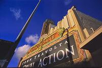 Vintage Photo Slide 1999 John Travolta Sign