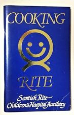 Cooking Rite Favorite Recipes (PaperBack Book) Scottish Rite Children's Hospital