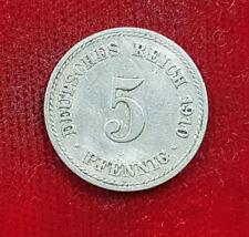 1910 5 Pfennig - Deutsches Reich - Deutschland - Coin Münze
