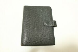 Authentic LOUIS VUITTON Taiga Agenda MM Day Planner Cover  #6384