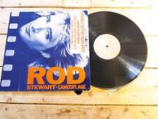 ROD STEWART CAMOUFLAGE LP VINYLE EX COVER EX ORIGINAL 1984