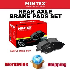 MINTEX Rear Axle BRAKE PADS SET for OPEL MOKKA 1.4 2018->on