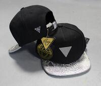 Hater Silver Snakeskin Strapback Hat Cap Snapback 5 6 panel .NEW