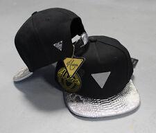 Hater Silver Snakeskin Strapback Hat Cap Snapback 5 6 panel NEW