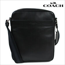Coach F54782 Men's Flight Messenger Crossbody Bag nwt