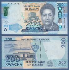 MALAWI  200 Kwacha 2016  UNC   P. NEW