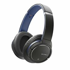 Sony Mdr-zx770bn Wireless and Noise Cancelling Headphones - Blue #4520
