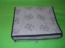 Baby Compartment Storage Box~ Teddy Bear design (12 x 13) ~ EUC
