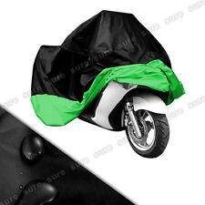 Housses de protection vert pour motocyclette