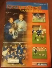Ford United v Harlow Town 2nd Feb 2002 Ryman League Division 1