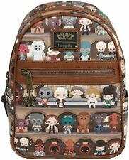 Loungefly x Star Wars Cantina Faux-Leather Mini Backpack Disney