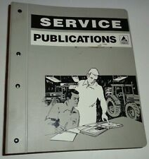 Agco White 6100 Series 6125 6145 6175 6195 Tractor Service Shop Manual Original!