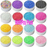8000 Pcs 2mm Czech Glass Seed Spacer Beads Jewelry Making DIY Finding Crafts