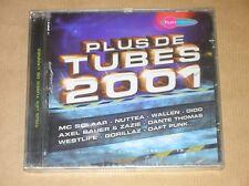 CD / FUN RADIO / PLUS DE TUBES 2001 / NEUF SOUS CELLO