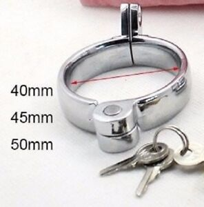 Replacement Ring Sizes For Male Chastity 'Locking Cage' 3 Sizes