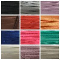 Insertion Piping 10mm 3M Many Colours Bias Flange Cord Trim Edge Sewing Craft UK