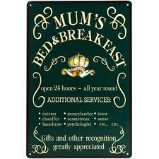 Antique Style Mum Decorative Indoor Signs/Plaques
