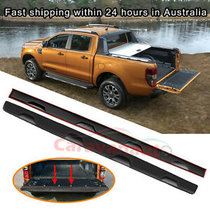 1PCS TAILGATE RAIL GUARD CAP PROTECTOR COVER FOR FORD RANGER PX 2012-2020