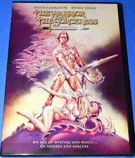 New Rare Oop David Carradine The Warrior And Sorceress Fantasy Movie Dvd 1984