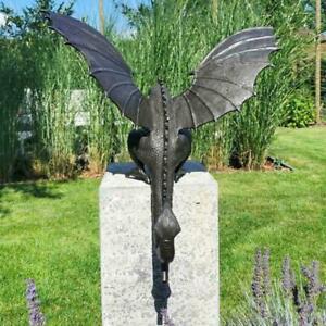 2021 drachen Statue Wasser Brunnen Skulptur Tier Figur Im Garten Decor F8Q9
