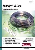 OREGON DUOLINE nylon strimmer cutting line 3mm x 60m - Duoline trimmer line