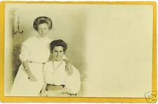 Real Photo Postcard Affectionate Women Lesbian Interest