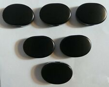 fit Grover Guitar machine head tuner Black Acrylic button 6p FR04B