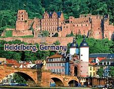 Germany - HEIDELBERG - Travel Souvenir Fridge Magnet