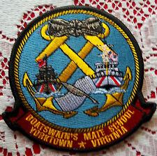 "Uscg ""Boatswain's Mate School"" Yorktown, Va 3-1/2 X4 in tall X 4 #1035"