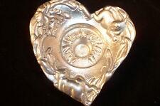 1994 Arthur Court Rabbits Bunnies Iris Taper candle Holder Heart   NEW