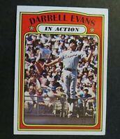1972 Topps Baseball  #112 Darrell Evans  IA - Braves