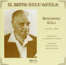 Beniamino Gigli: The Mito Dell' 'Opera (Concerto Di Vienna E Masterclass 1955)