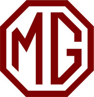 4 x MG Style logo badge car vinyl sticker decal  ZR ZT TF MGB small