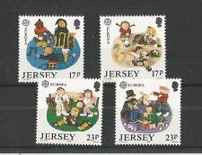 Jersey 1989 Europa SG, 496-499 Um/M N/H Lote R20