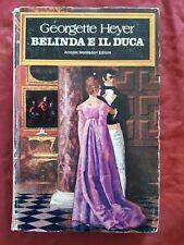 Libro Belinda e il duca  Georgette Heyer Mondadori  #TO1