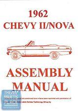 1962-62 Chevrolet Nova Assembly Manual - Each