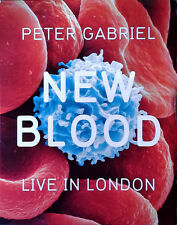 PETER GABRIEL - NEW BLOOD / LIVE IN LONDON - BLU-RAY DISC IN SLIP COVER