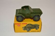 Dinky Toys 673 Scout Car perfect mint in box superb