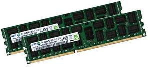 2x 16GB 32GB DDR3 ECC RAM für HP Z820 Workstation RAM 1600Mhz Samsung Speicher