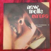 """NEW TROLLS Un'ora - Quei Favolosi Anni 60 promo 7"""" 45 giri vinile vinyl Italia"""