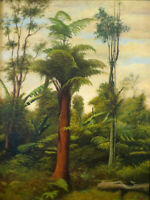 "high quality oil painting  handpainted on canvas ""Tree Fern  """