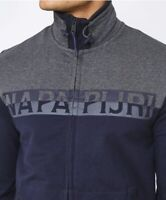 Napapijri 'Batim' Full Zip Tracksuit Jacket - Spell Out Sweat - BNWT - RRP £150