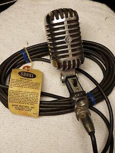 Vintage shure microphone model 55SW