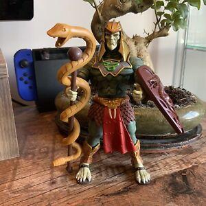 Mattel Masters of the Universe Classics Battle Armour King Hssss Figure MOTU