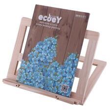 Adjustable Wooden Book Stand Cook Book Display Folding Holder 25*31CM