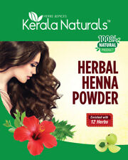 Kerala Naturals Herbal Henna Powder 300 grams - enriched with 12 herbs