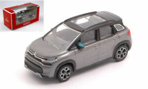 Model Car Scale 1:64 Norev Citroen C3 Aircross 2021 Grey diecast collection