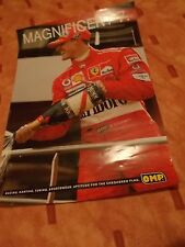 OMP Michael Schumacher poster- F.1 / race/ motorsport/trackday