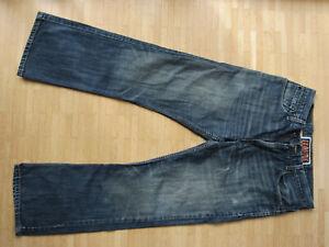 Levis 527 Low Bootcut Jeans W33 L32