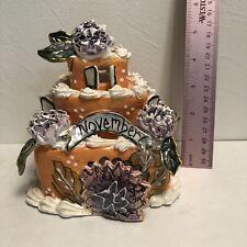 Heather Goldmine Blue Sky Cake Topper November 2002